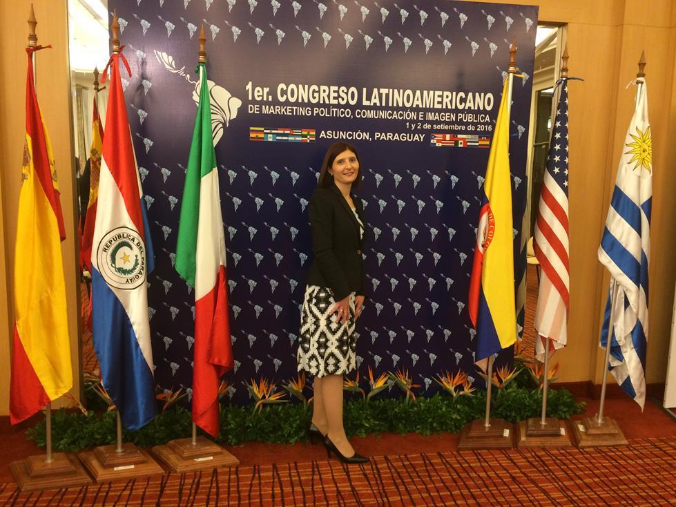 1er Congreso Latinoamericano de Marketing Político Comunicación e Imagen Publica Asuncion Paraguay 2016