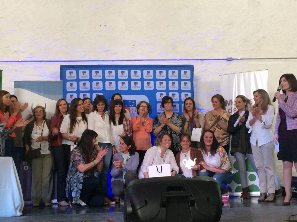 5° Concurso Nacional En Conchillas el Te se toma asi con los organizadores jurados y ganadores Octubre 2017