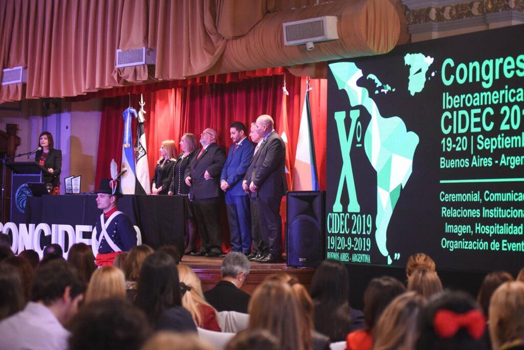 Acto apertura del 10 o Congreso CIDEC Buenos Aires septiembre