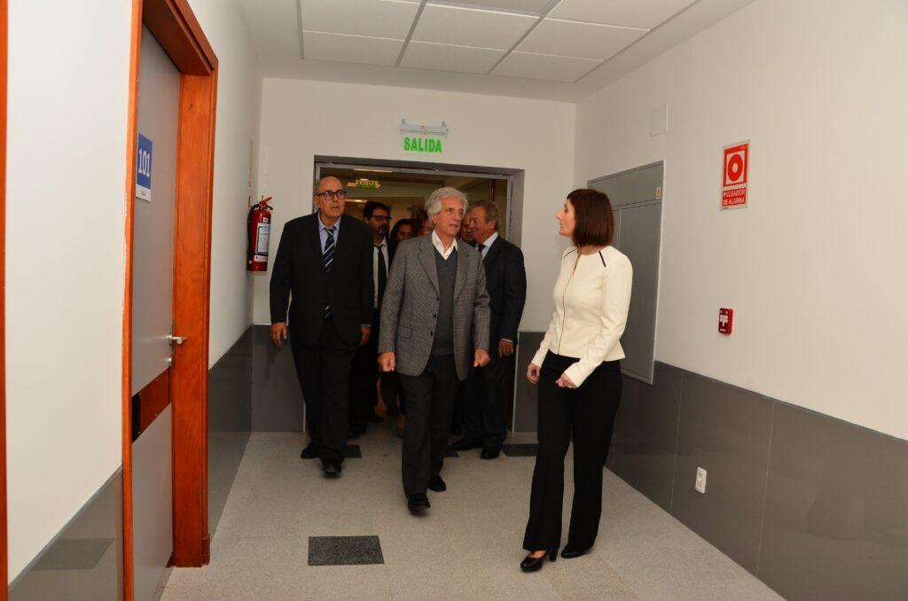 Acto inauguración del Hospital de Colonia con presencia del Excmo.-Sr Presidente  Prof. Dr Tabaré Vázquez Mayo 2019