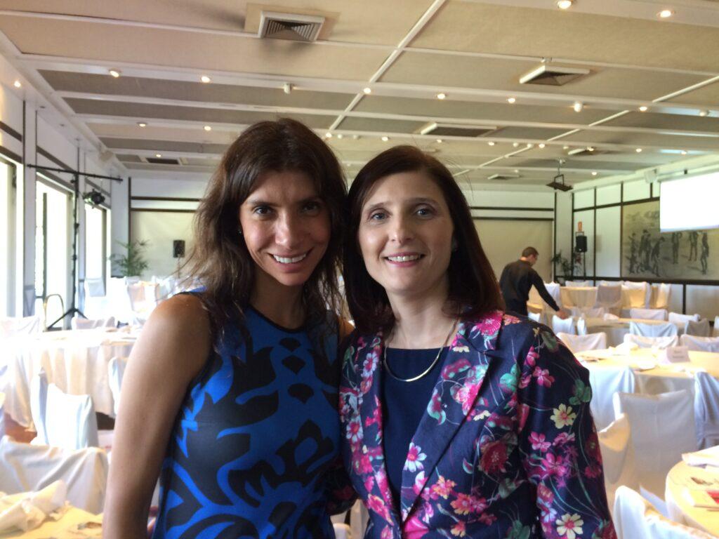 Con Alejandra Mustakis Presidenta de la Asociación de Emprendedores de Chile. Marzo 2018