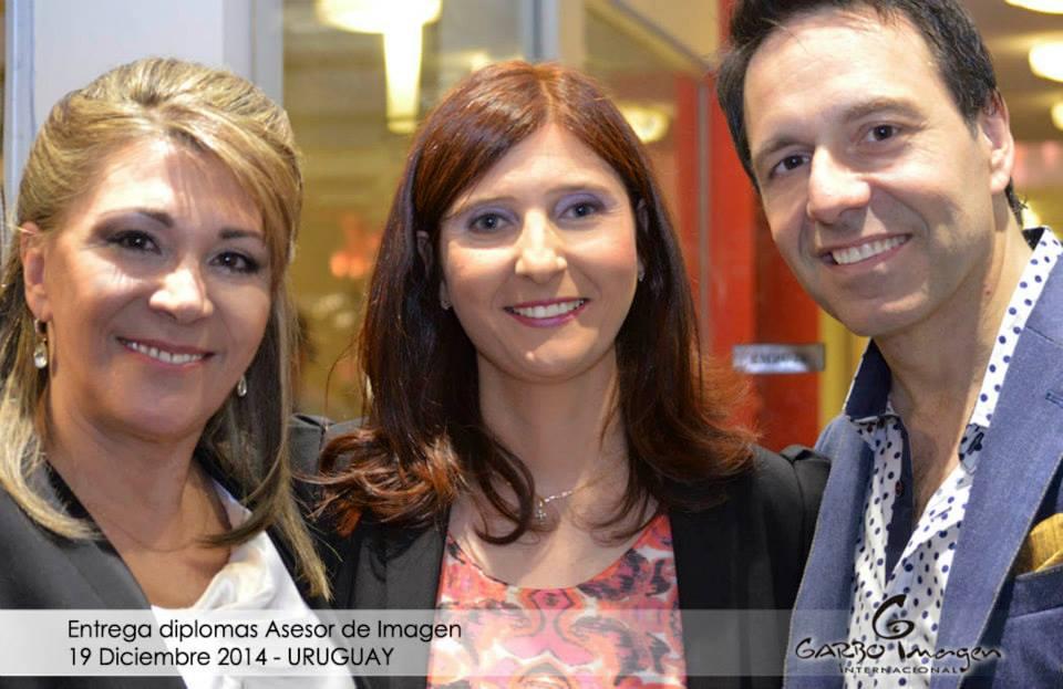 Con Directora de Garbo Imagen Ana Torres y Roberto Moar Entrega de Diplomas Garbo 2014