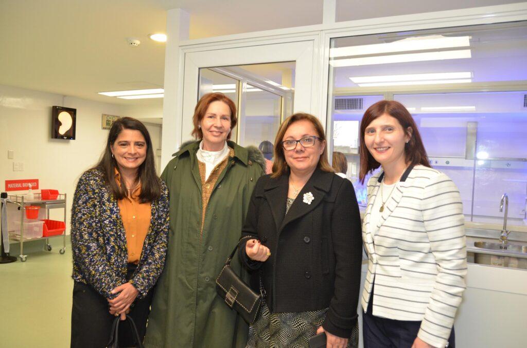 Con Integrantes de ADA Cuerpo Diplomático en el Centro Hospitalario Pereira Rossell 2016