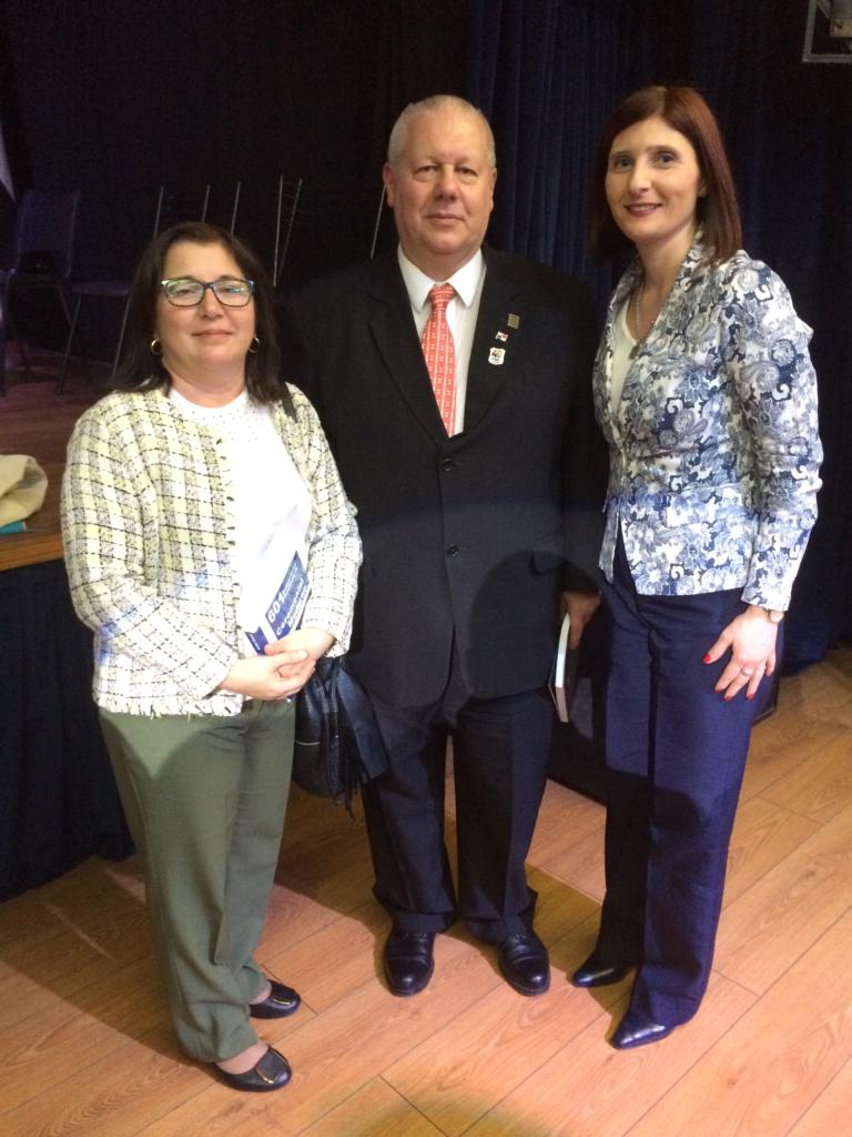 Con el destacado Prof Anibal Gotelli y la colega Lourdes Madera en Buenos Aires 7a Congreso CIDEC 2016