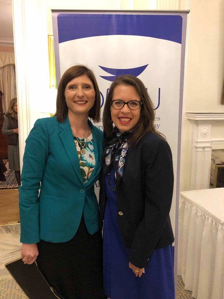 Con la Excma. Sra. Embajadora de EEUU Kelly Keiderling Diciembre 2018