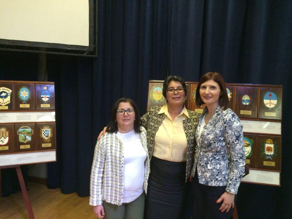 Con la Prof Patricia de Calderon de Guatemala y Lourdes Madera de Uruguay en Buenos Aires 7a Congreso CIDEC 2016