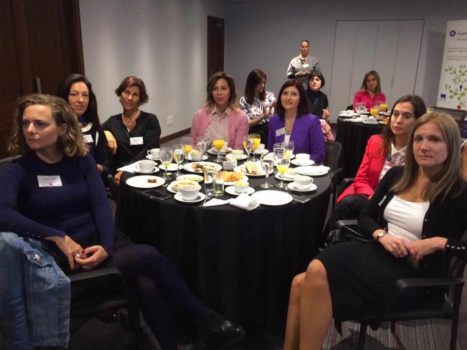 Desayuno de Networking WCD Uruguay El Rol de Liderazgo de las Mujeres Desafios y Oportunidades en Guyer Regules 2017