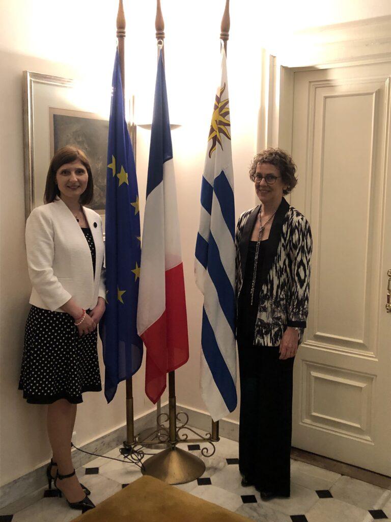 Despedida de fin de año OMEU en la Residencia del Embajador Frances Noviembre 2019