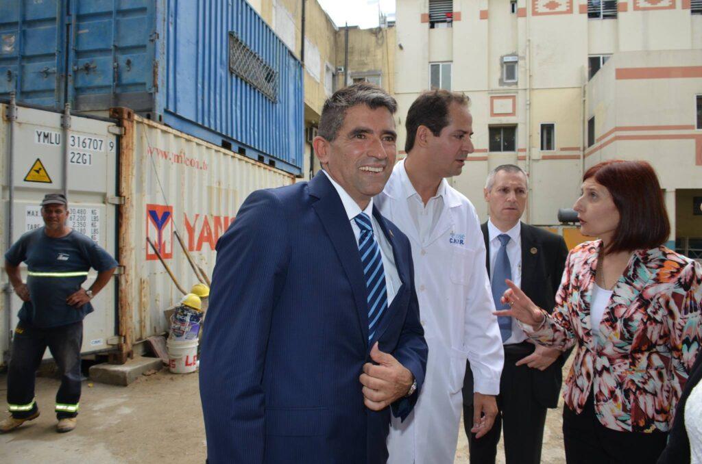 El Vicepresidente Raúl Sendic en ejercicio de la Presidencia inauguro obras en el Centro Hospitalario Pereira Rossell 2017