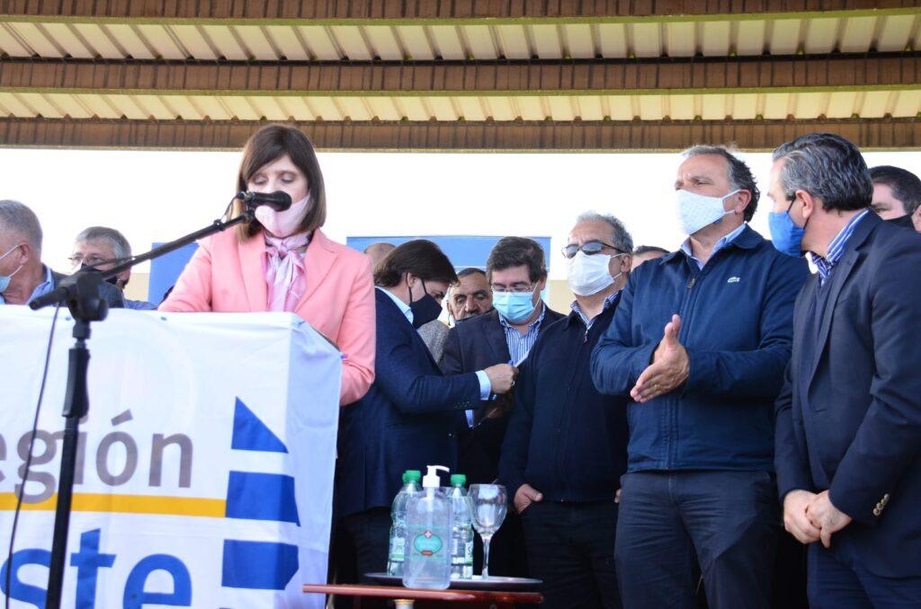 Entrega de equipamiento en Hospital del Chuy Rocha con presencia del Sr. Presidente de la Republica Dr. Luis Lacalle Pou. 15 de septiembre 2020