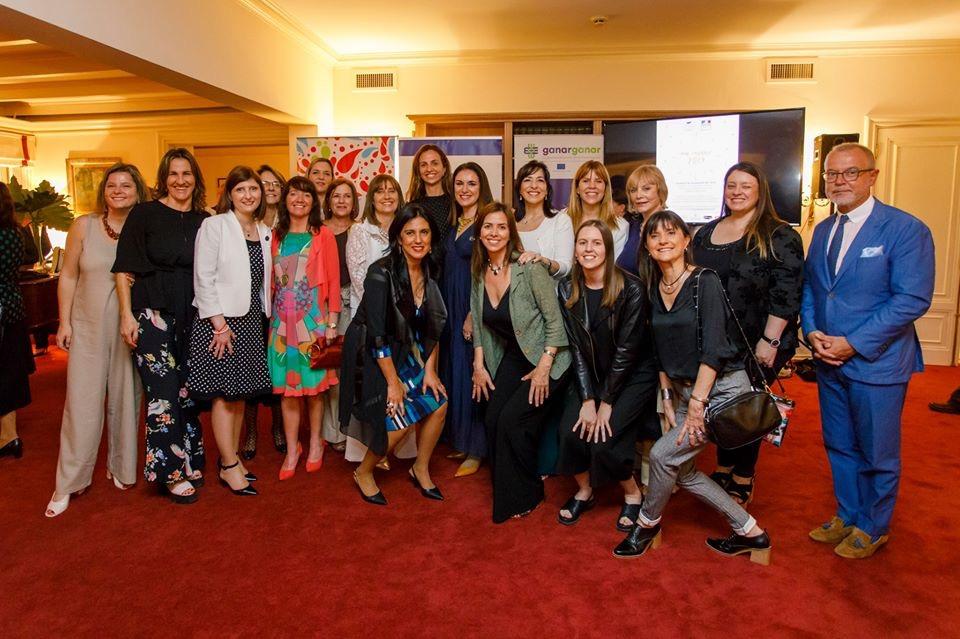 Firma de adhesión a los WEPs ONU Mujeres Noviembre 2019 en 3a Residencia del Embajador Frances