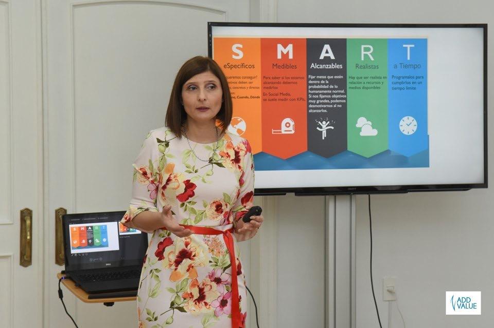 Workshop El Poder de la Presencia de Alto Impacto Montevideo. Con la Asesora de Imagen Alba Blustein Mayo 2019