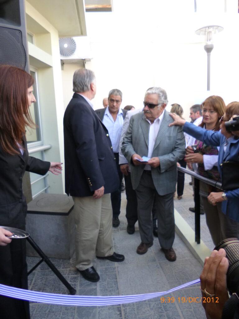Inauguración Servicio Imagenología con presencia del Presidente Sr. José Mujica Hospital de Minas 2012