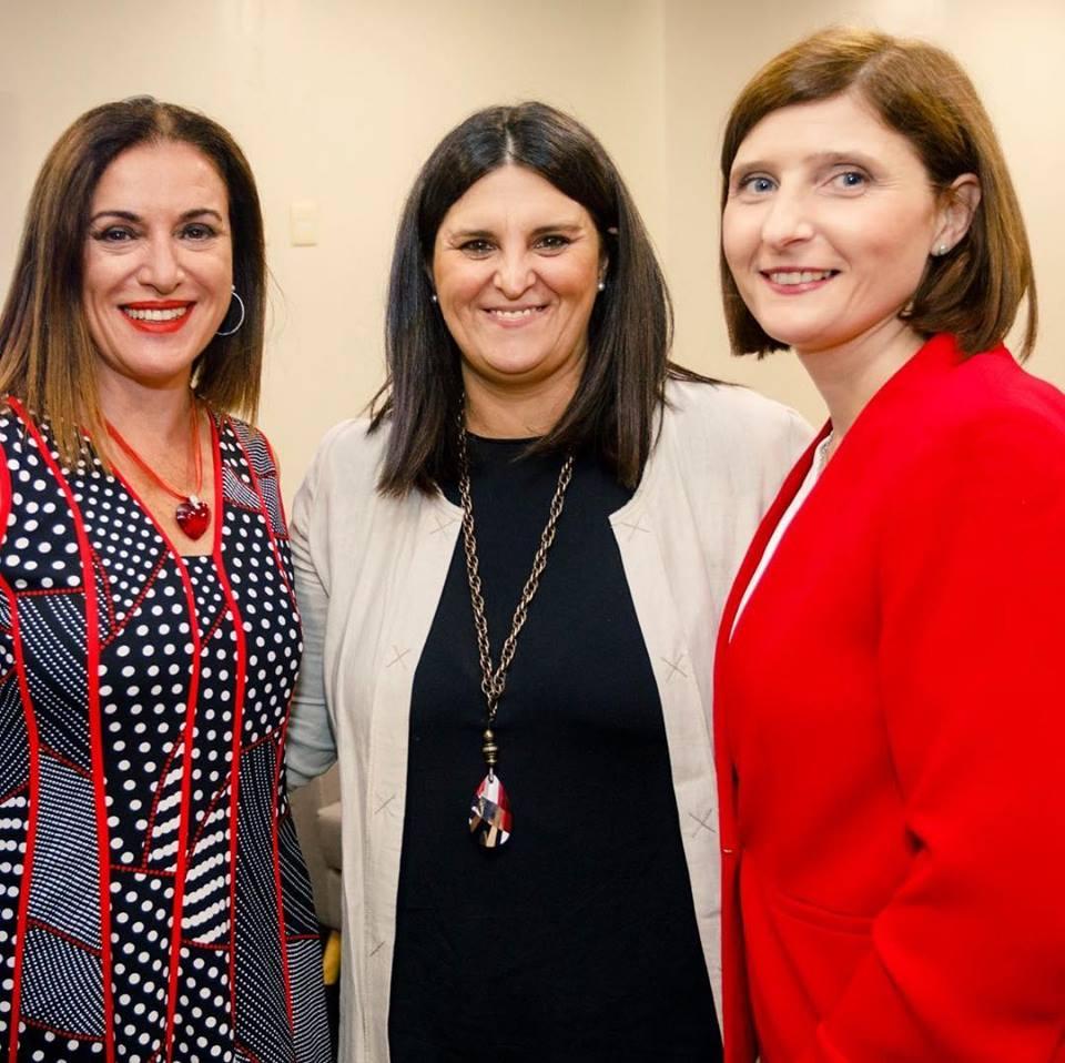 Lanzamiento del Programa Entre Todas con la Presidenta de OMEU Dra Anabela Aldaz y la Cra Wilma Camacho. Marzo 2019