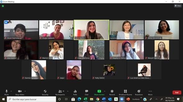 Presentación Método D.A.N.C.E.R para el Centro de Formación Profesional As Media, México, 6 de Octubre 2020
