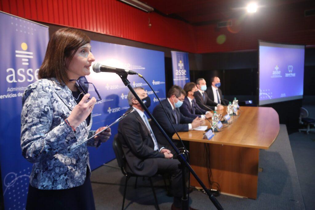 Presentación del Programa Salud Bucal con presencia del Sr. Presidente de la Republica Dr. Luis Lacalle Pou 25 de septiembre 2020