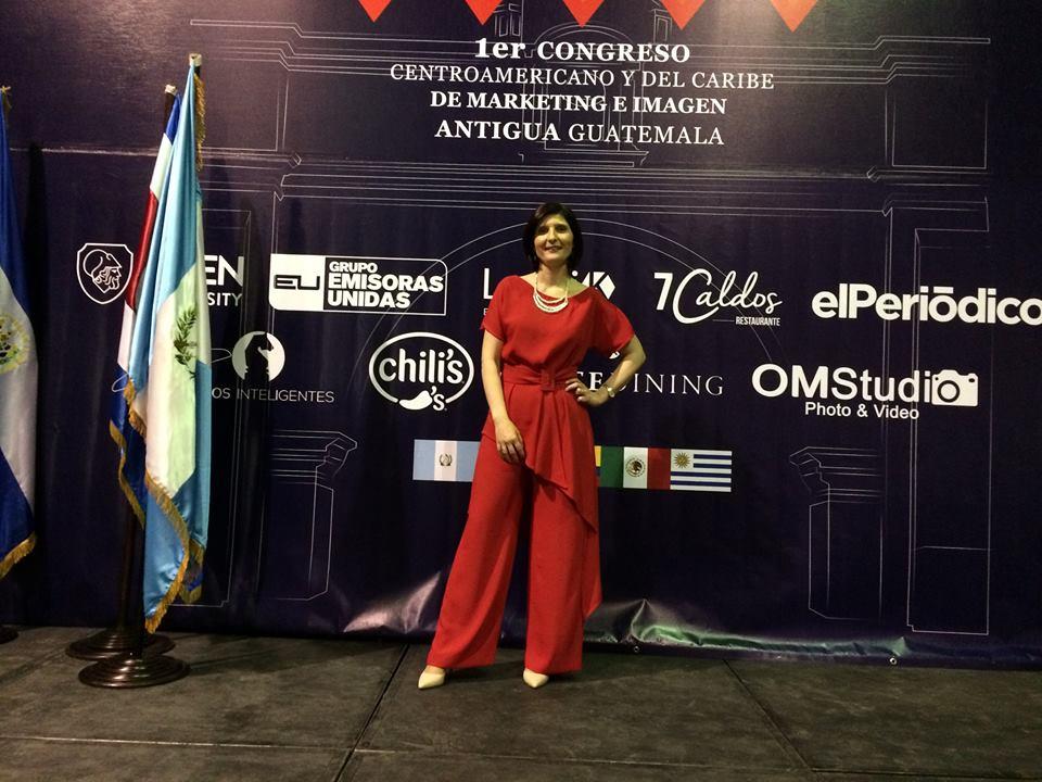 Primer Congreso Centroamericano y del Caribe de Marketing e Imagen Guatemala. Agosto 2017