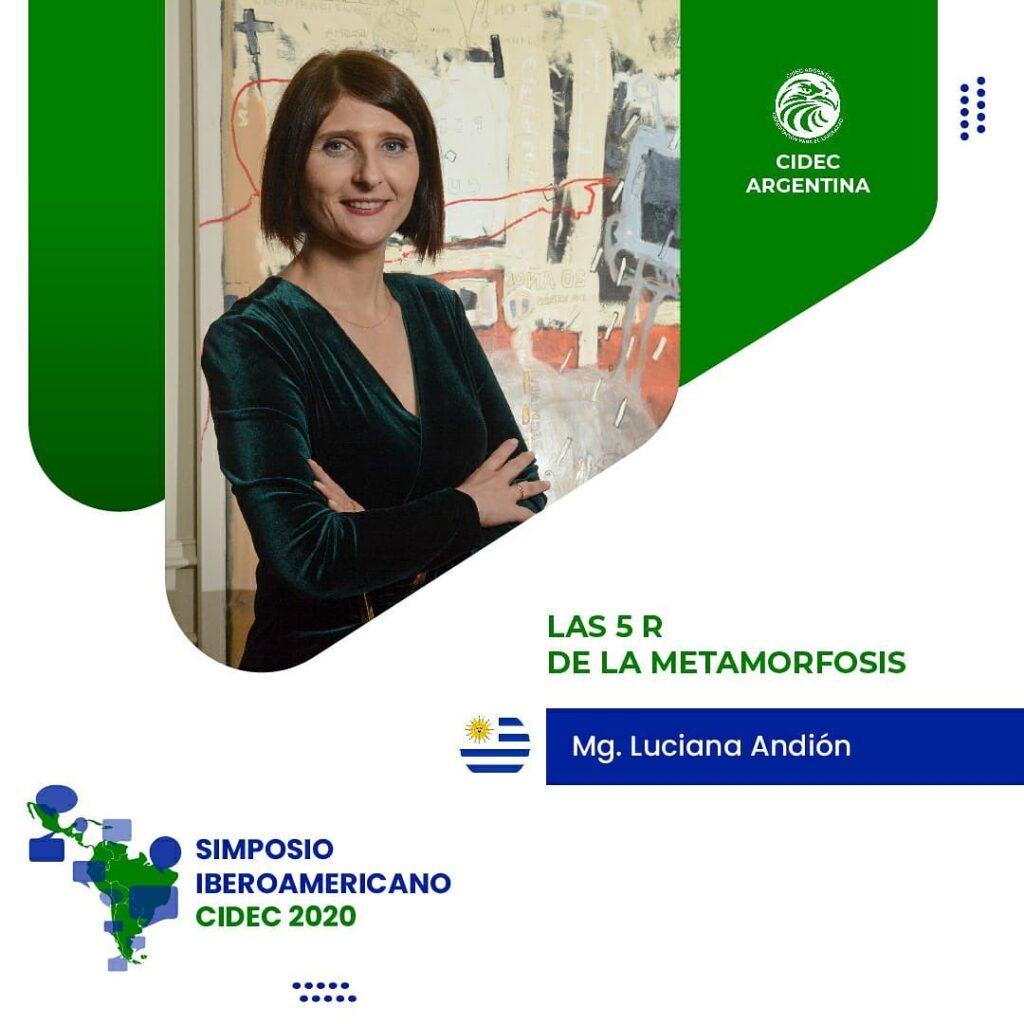 Simposio Iberoamericano CIDEC Las 5 R de la Metamorfosis