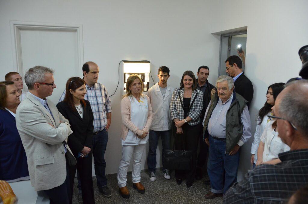 Visita del Presidente Sr José Mujica al Hospital de Fray Bentos 2014