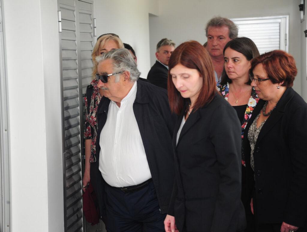Visita del Presidente Sr José Mujica al Laboratorio Dorrego 2014