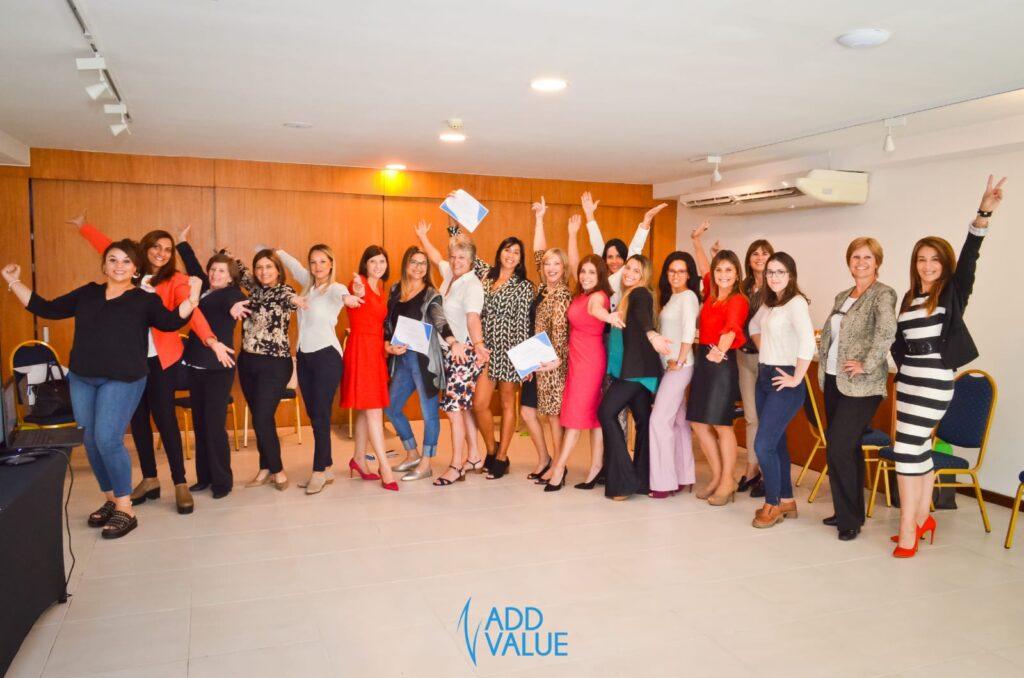 Workshop El Poder de la Presencia de Alto Impacto Colonia. Con la Asesora de Imagen Alba Blustein Marzo 2019