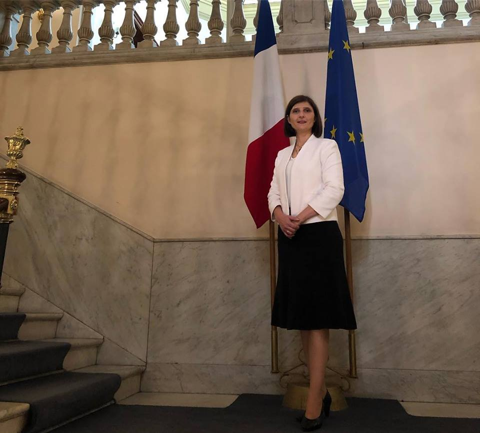 Lanzamiento de la Comisión para la Igualdad de Genero de la Cámara de Comercio francesa en la Embajada de Francia. OMEU Marzo 2019