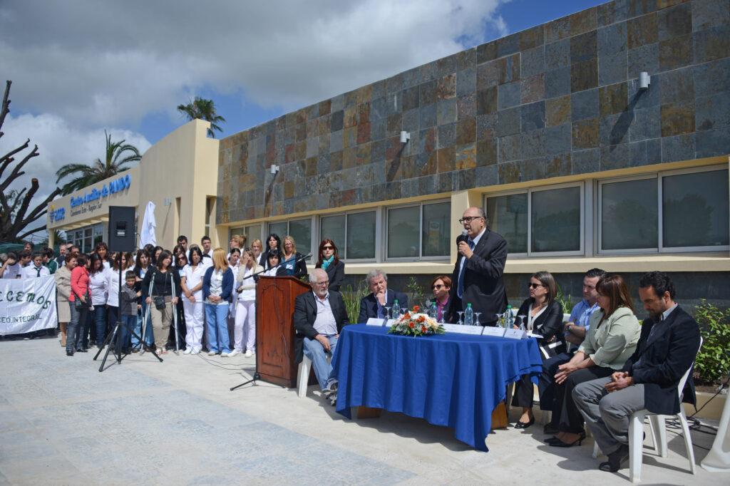Inauguración en Hospital de Pando con presencia del Intendente de Canelones la Ministra de Salud Publica y autoridades de ASSE 2014