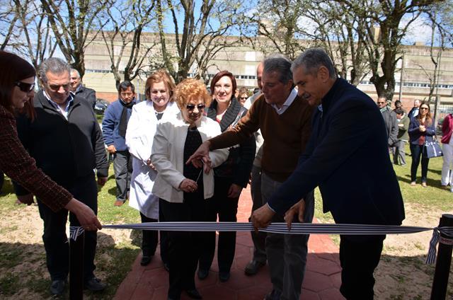 Inauguración salas de salud mental en Hospital de Durazno con el Intendente Sr. Carmelo Vidalin 2016
