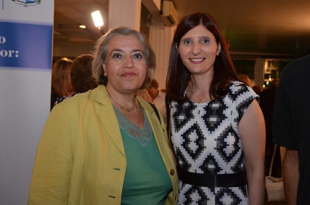 Con la Embajadora de Grecia Excma Alexandra Papadopoulou 2016
